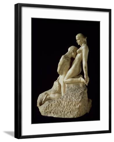 The Eternal Idol by Auguste Rodin (1840-1917), C.1889--Framed Art Print