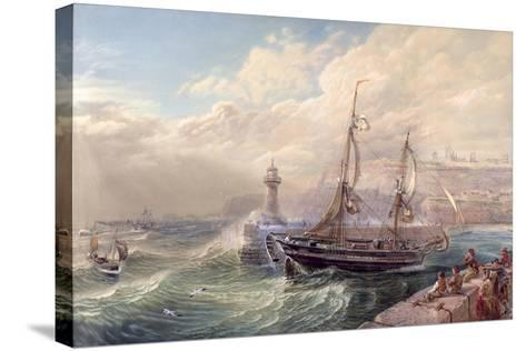 Whitby, 1883-Samuel Phillips Jackson-Stretched Canvas Print