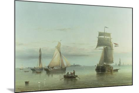 Calm on the Humber, 1864-Henry Redmore-Mounted Giclee Print