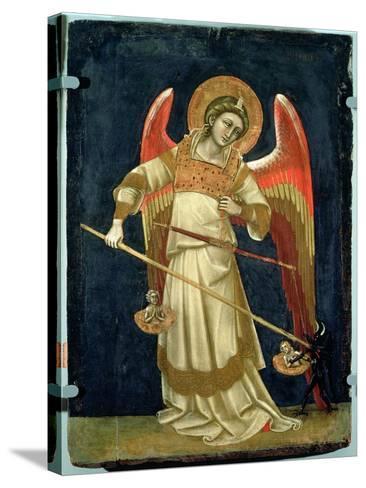 The Archangel Michael-Ridolfo di Arpo Guariento-Stretched Canvas Print