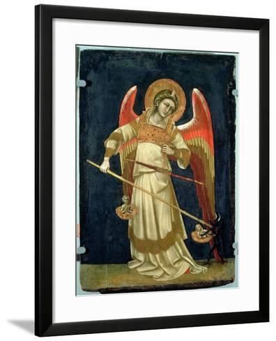 The Archangel Michael-Ridolfo di Arpo Guariento-Framed Art Print