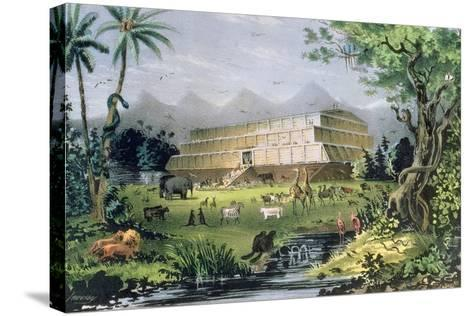 Noah's Ark, Pub. by Currier and Ives, New York-Napoleon Sarony-Stretched Canvas Print