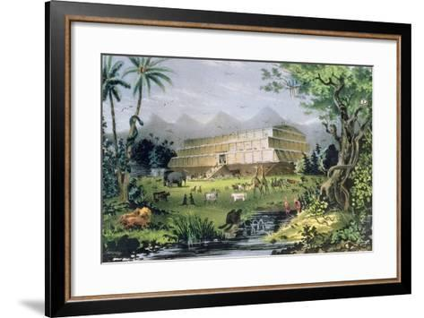 Noah's Ark, Pub. by Currier and Ives, New York-Napoleon Sarony-Framed Art Print