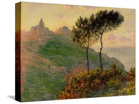 The Church at Varengeville, Against the Sunlight, 1882-Claude Monet-Stretched Canvas Print