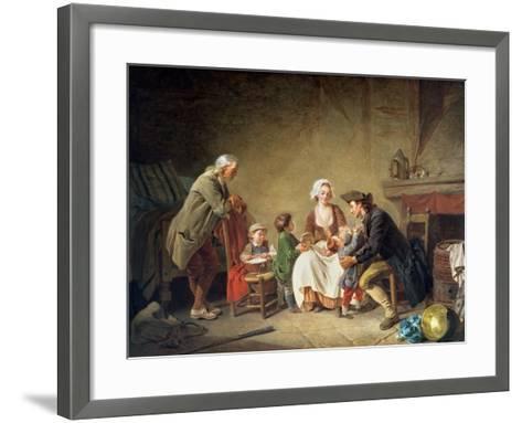 Paternal Love-Etienne Aubry-Framed Art Print