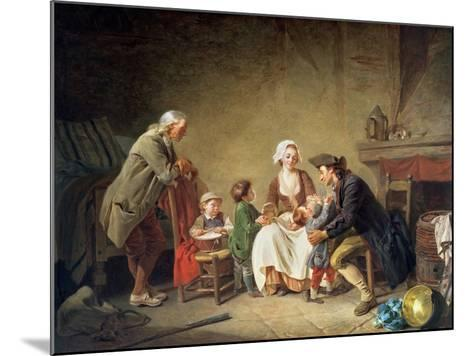 Paternal Love-Etienne Aubry-Mounted Giclee Print