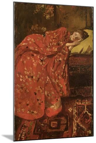 The Red Kimono-Georg-Hendrik Breitner-Mounted Giclee Print