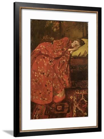 The Red Kimono-Georg-Hendrik Breitner-Framed Art Print