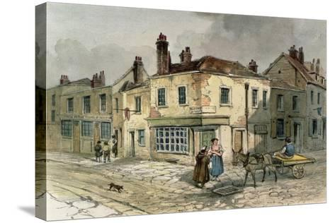 Old Pye Street, Westminster, 1849--Stretched Canvas Print