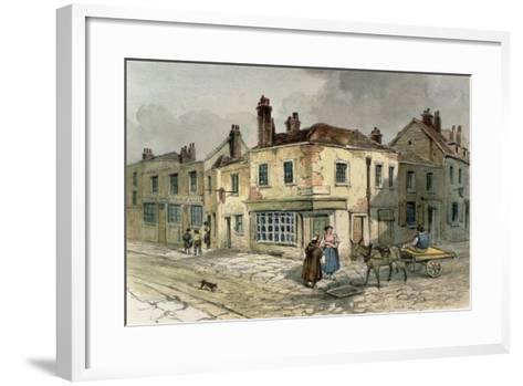 Old Pye Street, Westminster, 1849--Framed Art Print