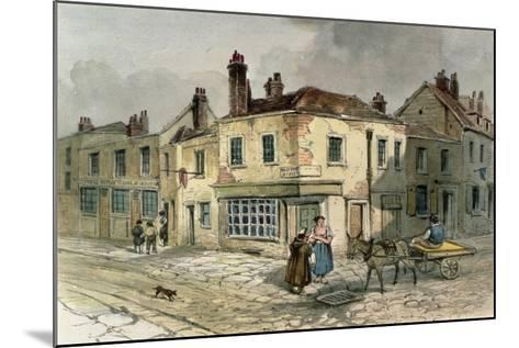 Old Pye Street, Westminster, 1849--Mounted Giclee Print