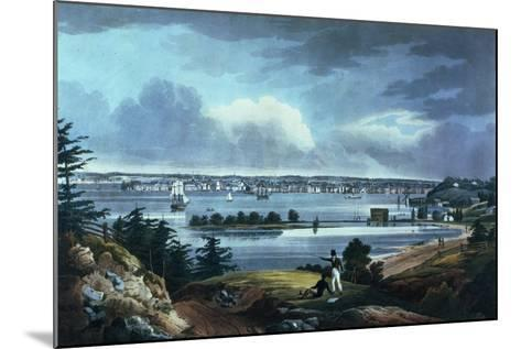 New York from Heights Near Brooklyn, 1820-23-William Guy Wall-Mounted Giclee Print