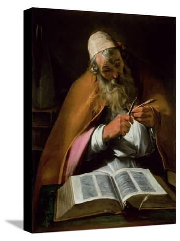 St. Ambrose--Stretched Canvas Print