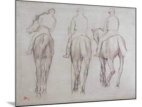 Jockeys-Edgar Degas-Mounted Giclee Print