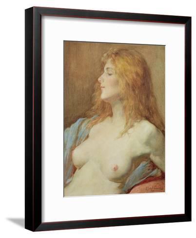 A Redhead-John Edward Goodall-Framed Art Print