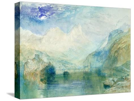 The Lowerzer See-J^ M^ W^ Turner-Stretched Canvas Print