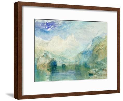 The Lowerzer See-J^ M^ W^ Turner-Framed Art Print