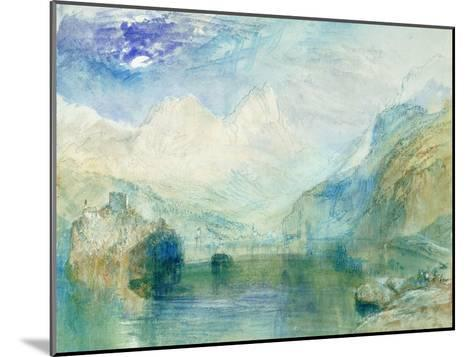 The Lowerzer See-J^ M^ W^ Turner-Mounted Giclee Print