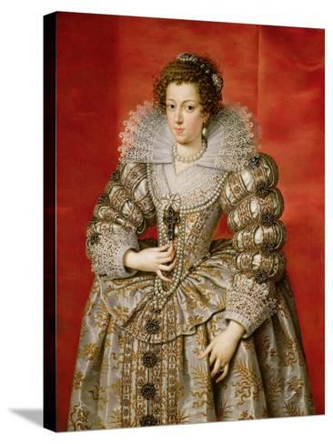 Anne of Austria (1601-66)-Frans II Pourbus-Stretched Canvas Print