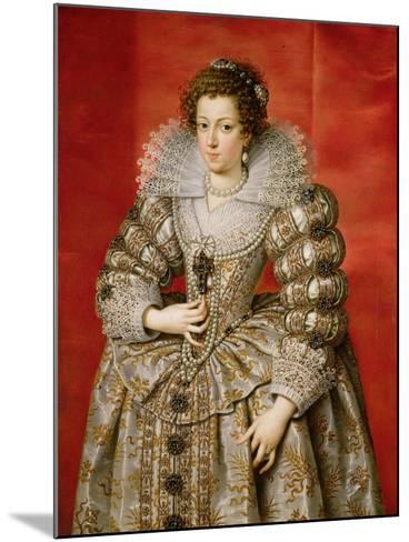 Anne of Austria (1601-66)-Frans II Pourbus-Mounted Giclee Print