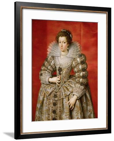 Anne of Austria (1601-66)-Frans II Pourbus-Framed Art Print