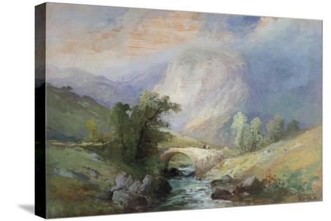 Lakeland Landscape-Edward Stott-Stretched Canvas Print