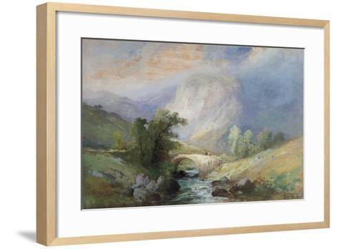 Lakeland Landscape-Edward Stott-Framed Art Print