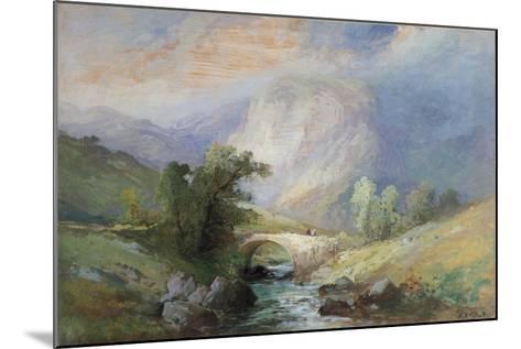 Lakeland Landscape-Edward Stott-Mounted Giclee Print