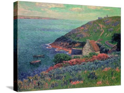 The Bay of Biscay, Brittany-Henry Moret-Stretched Canvas Print