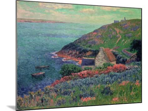 The Bay of Biscay, Brittany-Henry Moret-Mounted Giclee Print