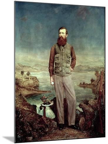 Portrait of John Hanning Speke (1827-64)-James Watney Wilson-Mounted Giclee Print
