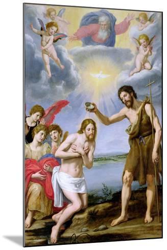 The Baptism of Christ-Ottavio Vannini-Mounted Giclee Print
