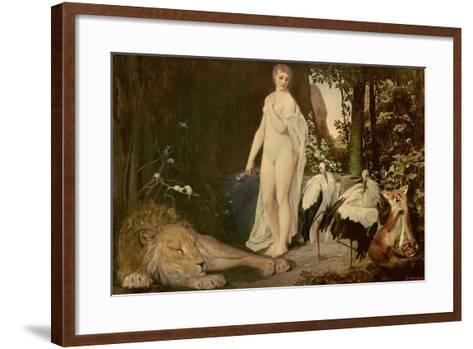 Fable, 1883-Gustav Klimt-Framed Art Print