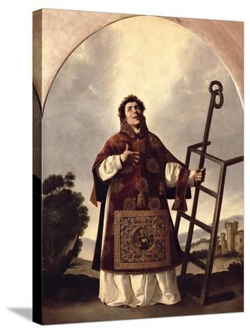 St. Lawrence-Francisco de Zurbar?n-Stretched Canvas Print
