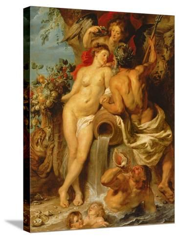 The Union of Earth and Water, C.1618-Peter Paul Rubens-Stretched Canvas Print