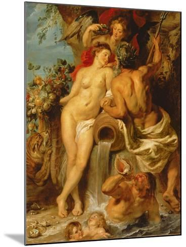 The Union of Earth and Water, C.1618-Peter Paul Rubens-Mounted Giclee Print
