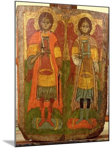 Archangels Michael and Gabriel, Byzantine Icon, Early Period, 10th-11th Century--Mounted Giclee Print