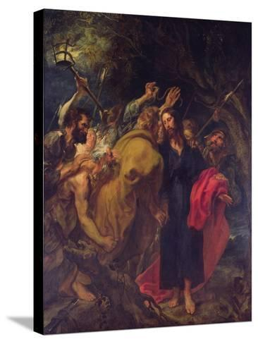 The Betrayal of Christ-Sir Anthony Van Dyck-Stretched Canvas Print