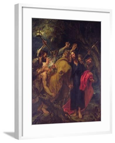 The Betrayal of Christ-Sir Anthony Van Dyck-Framed Art Print