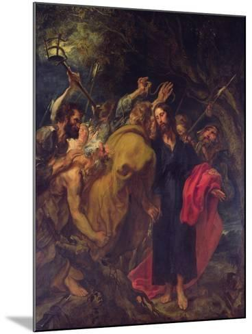 The Betrayal of Christ-Sir Anthony Van Dyck-Mounted Giclee Print