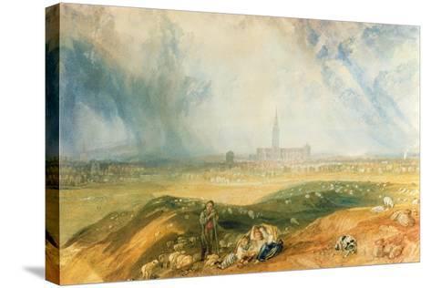 Salisbury Cathedral-J^ M^ W^ Turner-Stretched Canvas Print