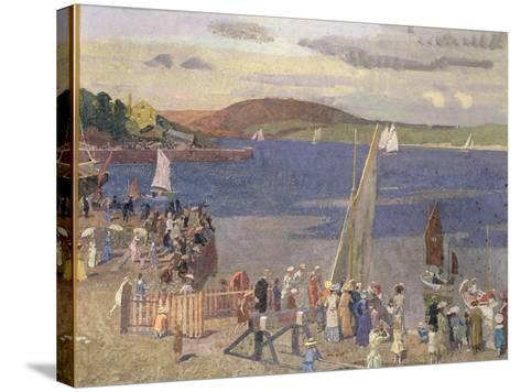 Padstow Regatta-Alfred Walter Bayes-Stretched Canvas Print