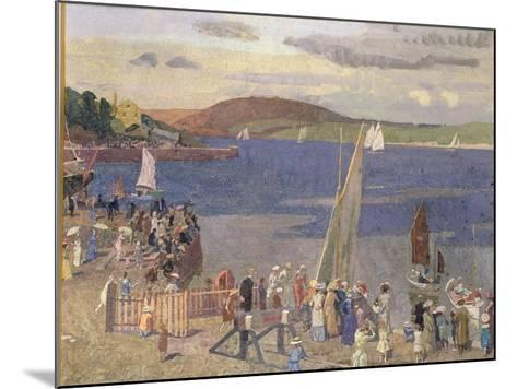 Padstow Regatta-Alfred Walter Bayes-Mounted Giclee Print