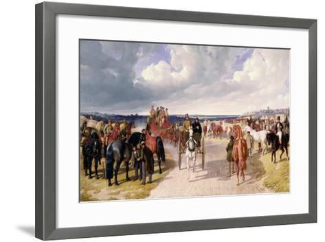 Barnet Fair-John Frederick Herring I-Framed Art Print