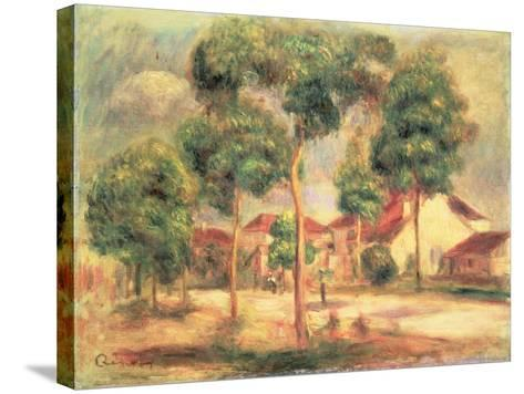 The Sunny Road, C.1895-Pierre-Auguste Renoir-Stretched Canvas Print