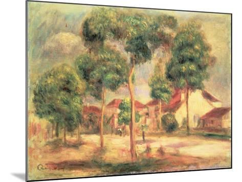 The Sunny Road, C.1895-Pierre-Auguste Renoir-Mounted Giclee Print