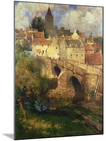 A Village in East Linton, Haddington-James Paterson-Mounted Giclee Print