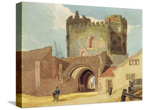 The South Gate, Great Yarmouth, Norfolk-John Sell Cotman-Stretched Canvas Print