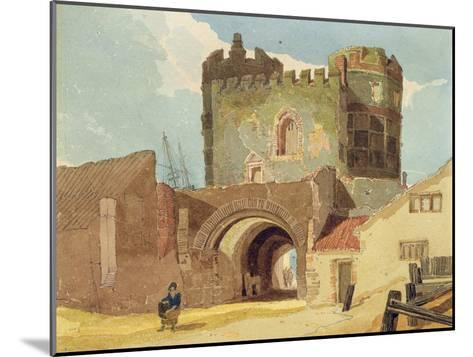 The South Gate, Great Yarmouth, Norfolk-John Sell Cotman-Mounted Giclee Print