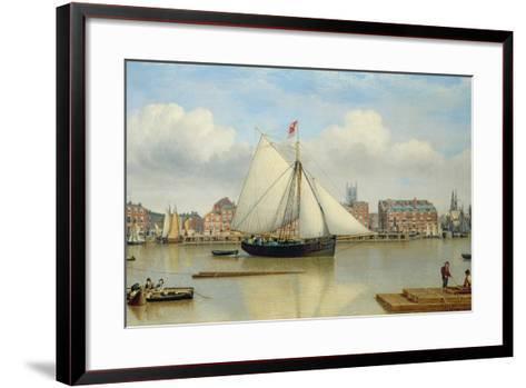 Hull from the Humber, C.1837-John Ward-Framed Art Print